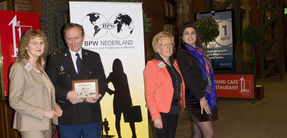 Dutch Police received BPW Equal Pay Award