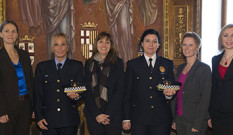New Executive Board of the European Network of Policewomen
