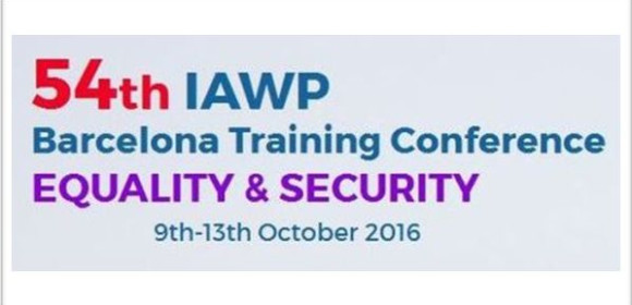 The President of  IAWP visit Barcelona