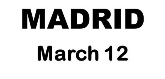 Madrid, March 12