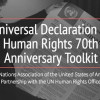 Universal Declaration of Human Rights 70th Anniversary